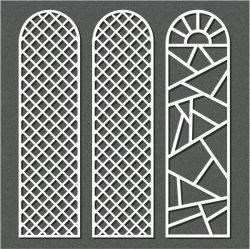 Cnc Laser Cut Small Dome Shaped Partition Free CDR Vectors Art