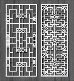 Cnc Laser Cut Square Frame Bulkhead Free CDR Vectors Art