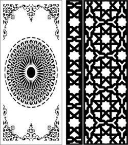 Cnc Laser Cut Star Baffles And Islamic Circle Free CDR Vectors Art