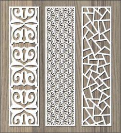 Cnc Laser Cut Stone Pattern Baffle Pattern Free CDR Vectors Art