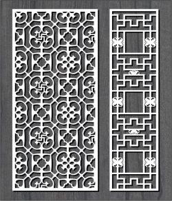 Cnc Laser Cut Swastika Pattern Free CDR Vectors Art