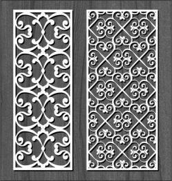 Cnc Laser Cut White Spiral Pattern Free CDR Vectors Art