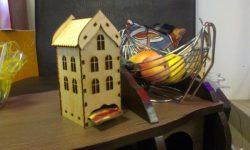 Cnc Laser Cut Wooden Tea House Template Free CDR Vectors Art
