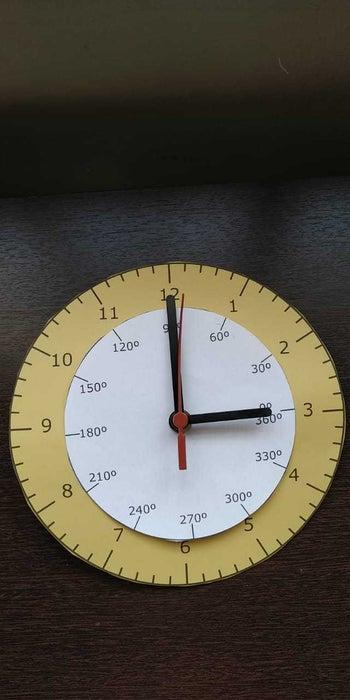 Trigonometric Clock Free DXF File