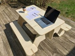 Cnc Laser Cut Tables And Chairs Outdoors Free CDR Vectors Art