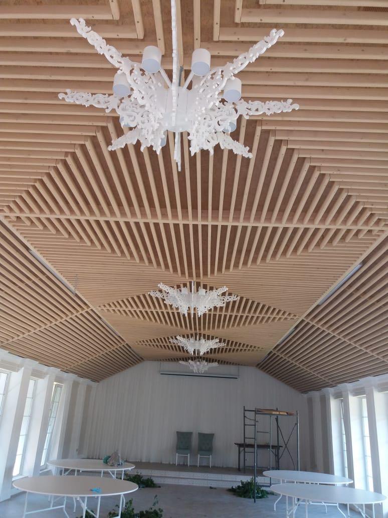 Laser Cut Wood Chandelier Free CDR Vectors Art