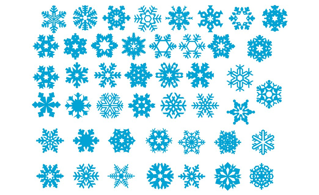 Wooden Christmas Decoration Ornaments Snowflakes Pattern Free CDR Vectors Art