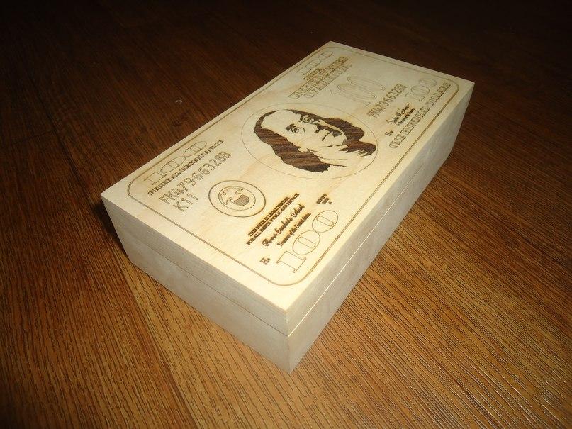 100 Dollars Cnc Cut Engrave Free DXF File
