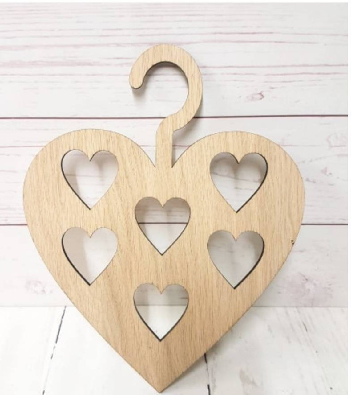 Laser Cut Heart Shaped Hanger Free CDR Vectors Art