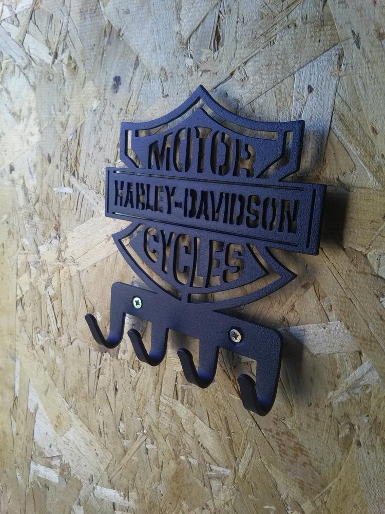 Plasma Cut harley-davidson Hanger Free DXF File