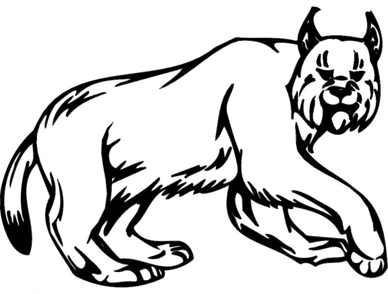 Animal Mascot 045 Free DXF File