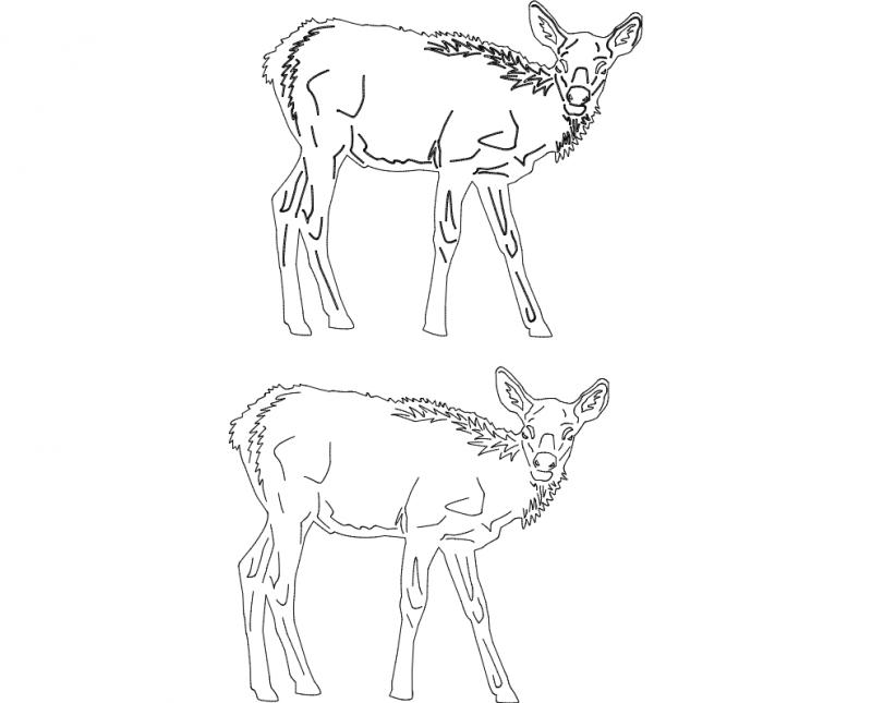 Animals 2.14 Free DXF File