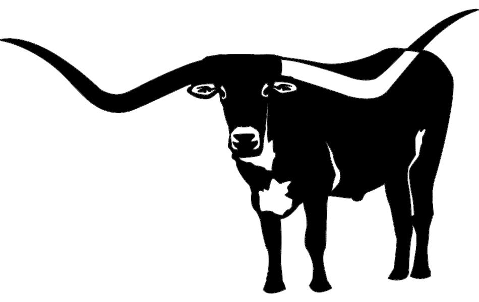 Animal Bull Silhouette Free DXF File