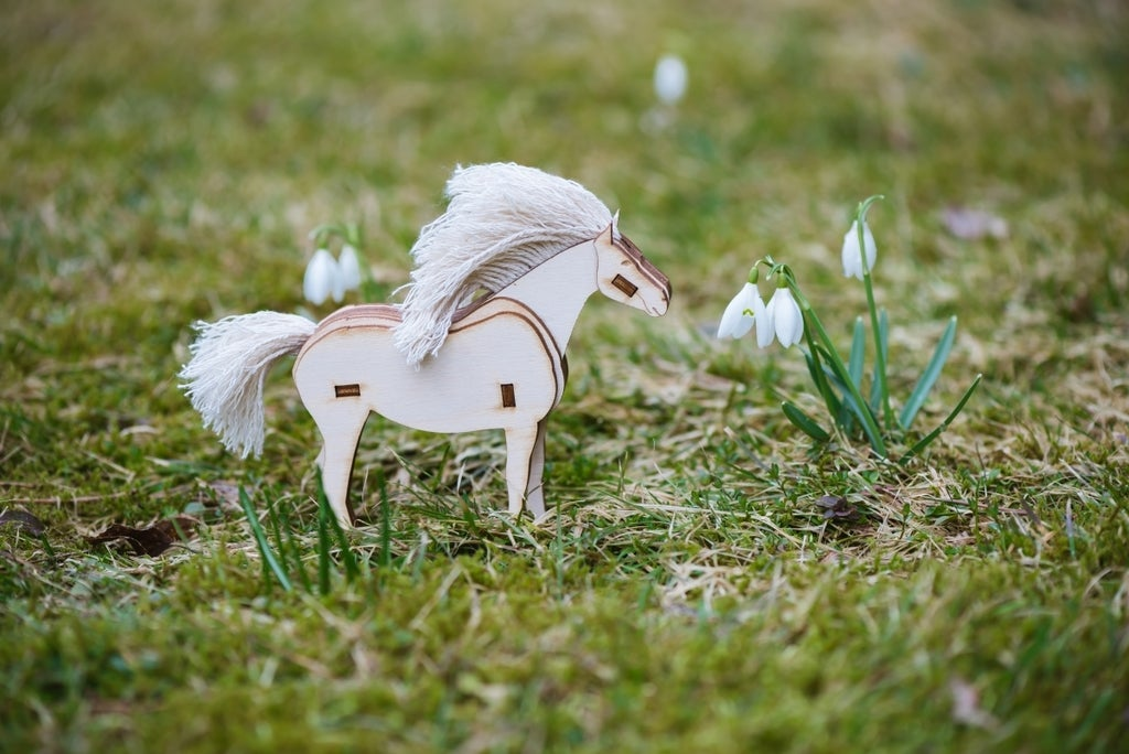 Horse 8 Mm Plywood Free DXF File
