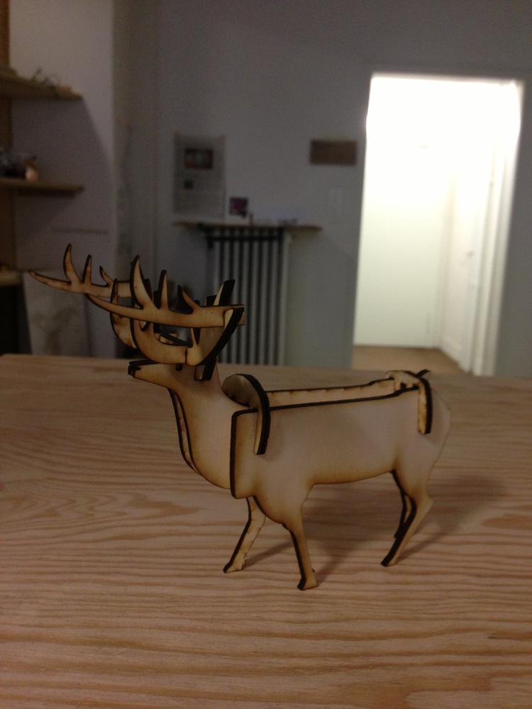 Stag Deer Free DXF File