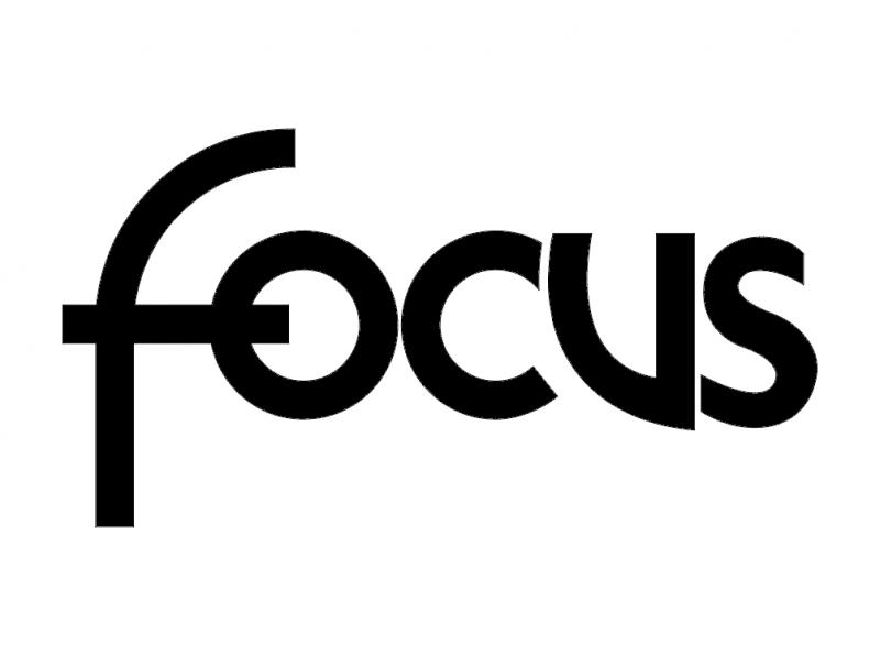 Focus Logo Free DXF File