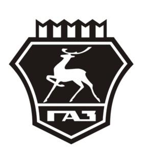Gaz Logo Free DXF File