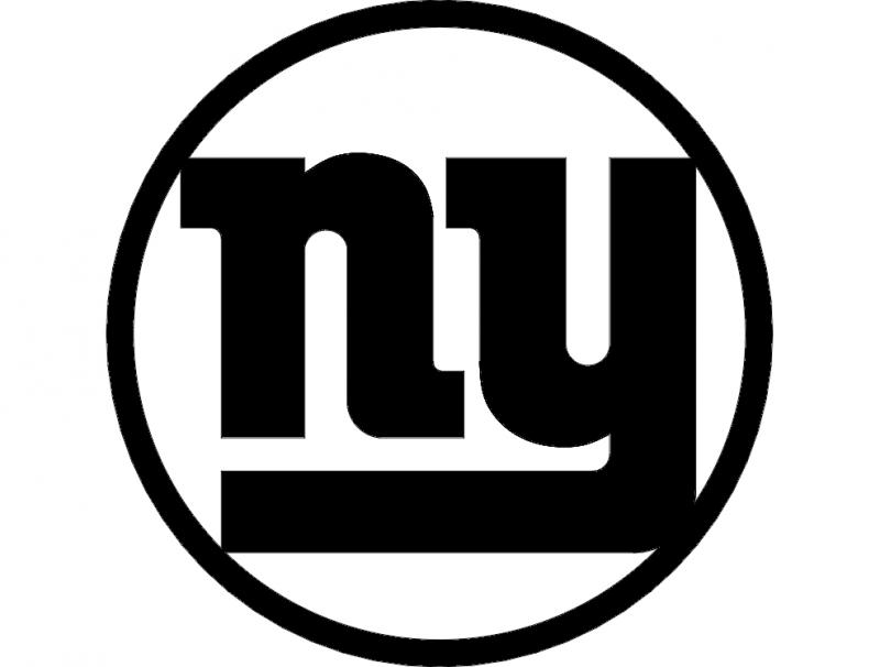 Ny Logo Free DXF File