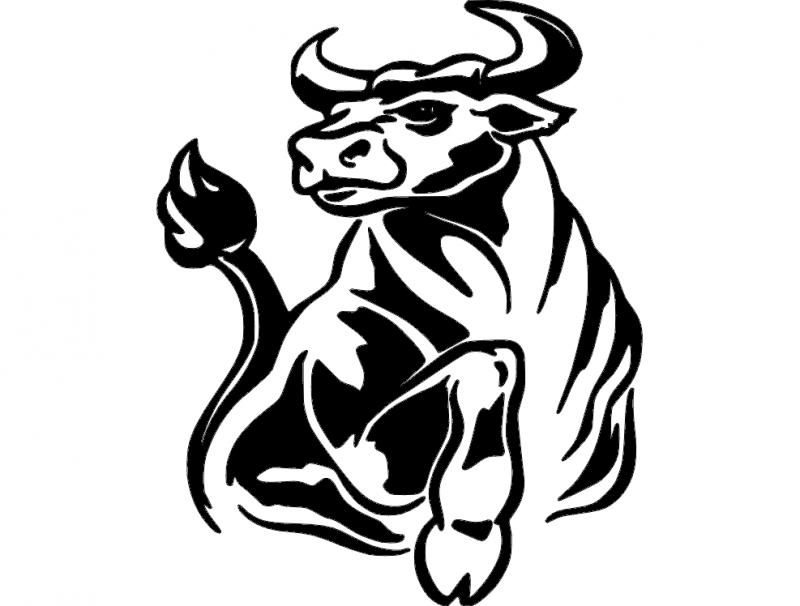 Bull 3 Free DXF File
