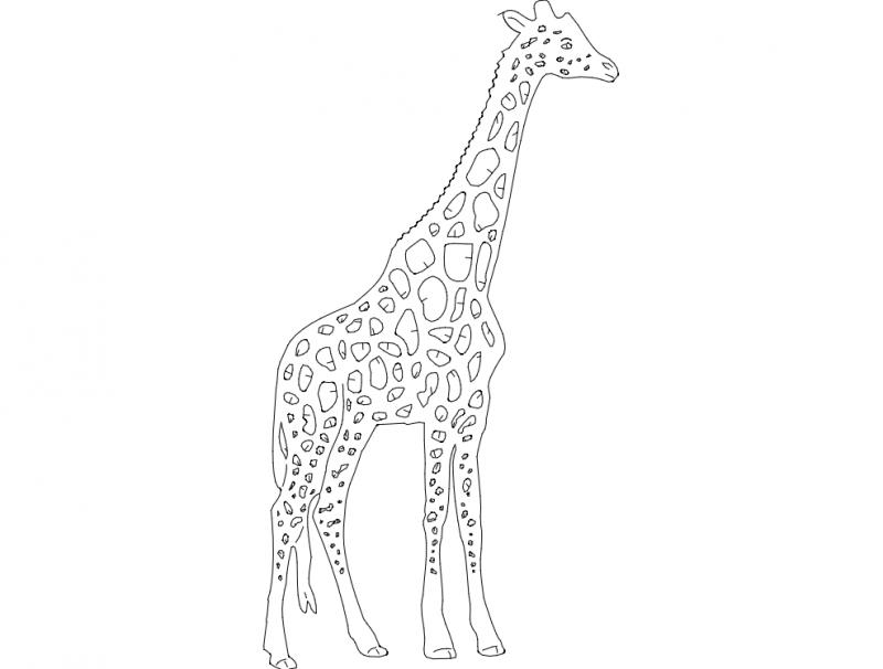 Girafa Free DXF File