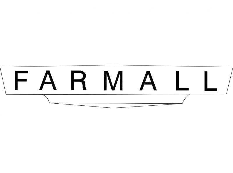 Farmall Emblem Logo Free DXF File