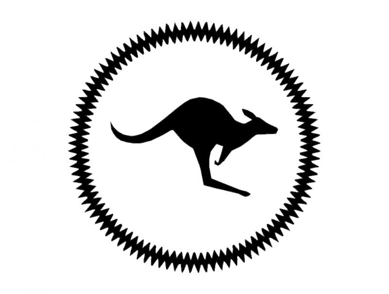 Kangaroo Free DXF File