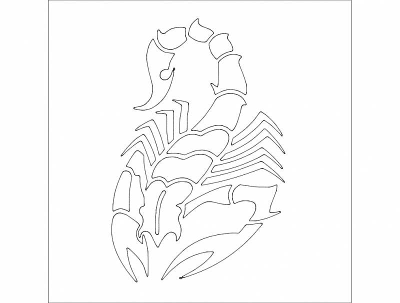 Skorpion 2 Free DXF File