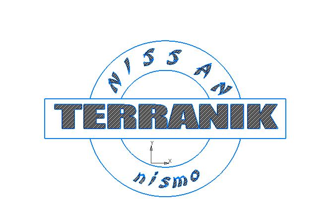 эмблема нисан тираник Logo Free DXF File