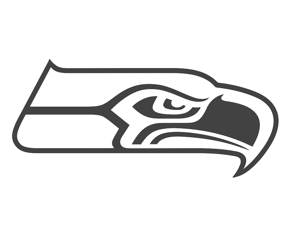 Seahawks Logo Free DXF File