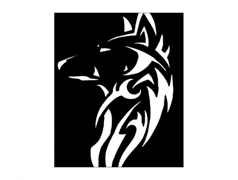 Wilk (wolf) Free DXF File