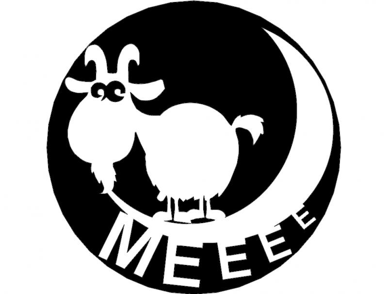 коза Free DXF File