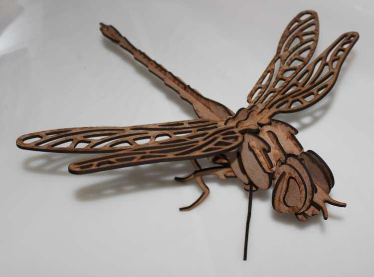 стрекоза (dragonfly) Free DXF File