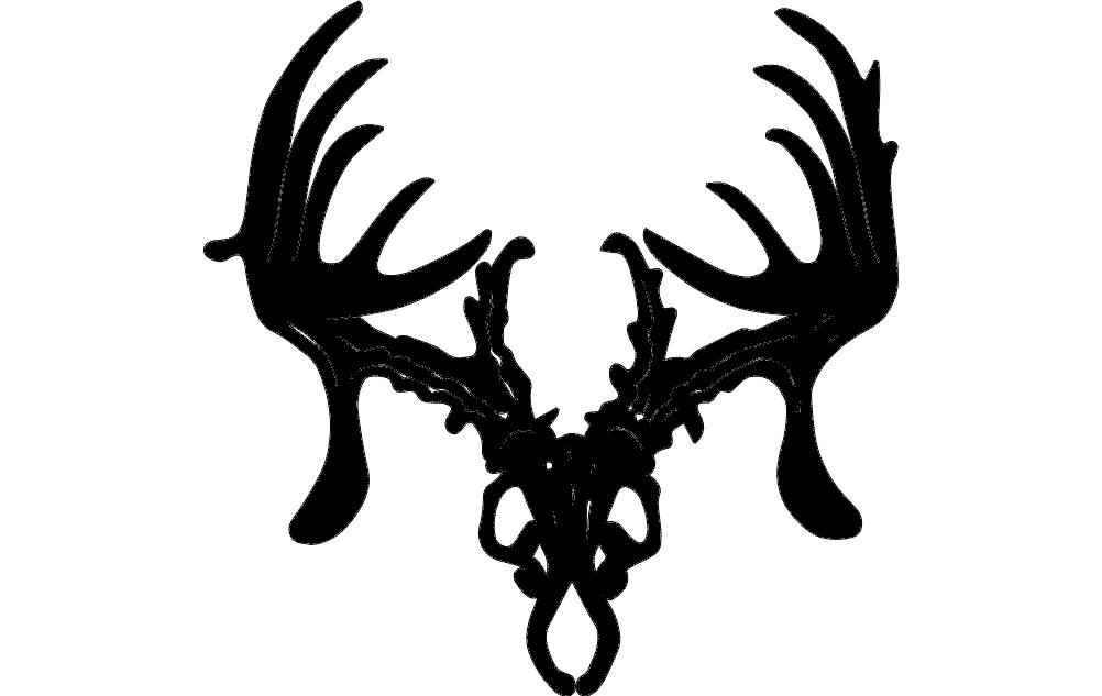 Trophy Hunter 12 Inch Free DXF File