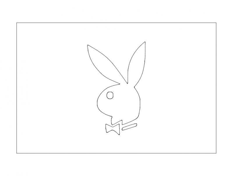 Zajec (rabbit) Free DXF File