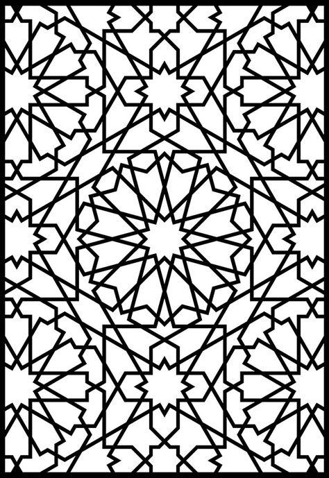 Granada Geometric Pattern Free DXF File