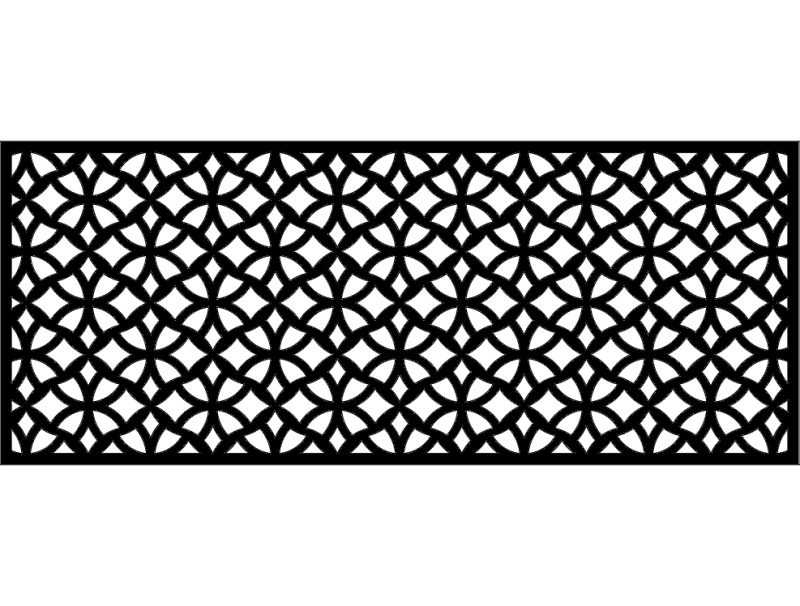Patterns Free DXF File