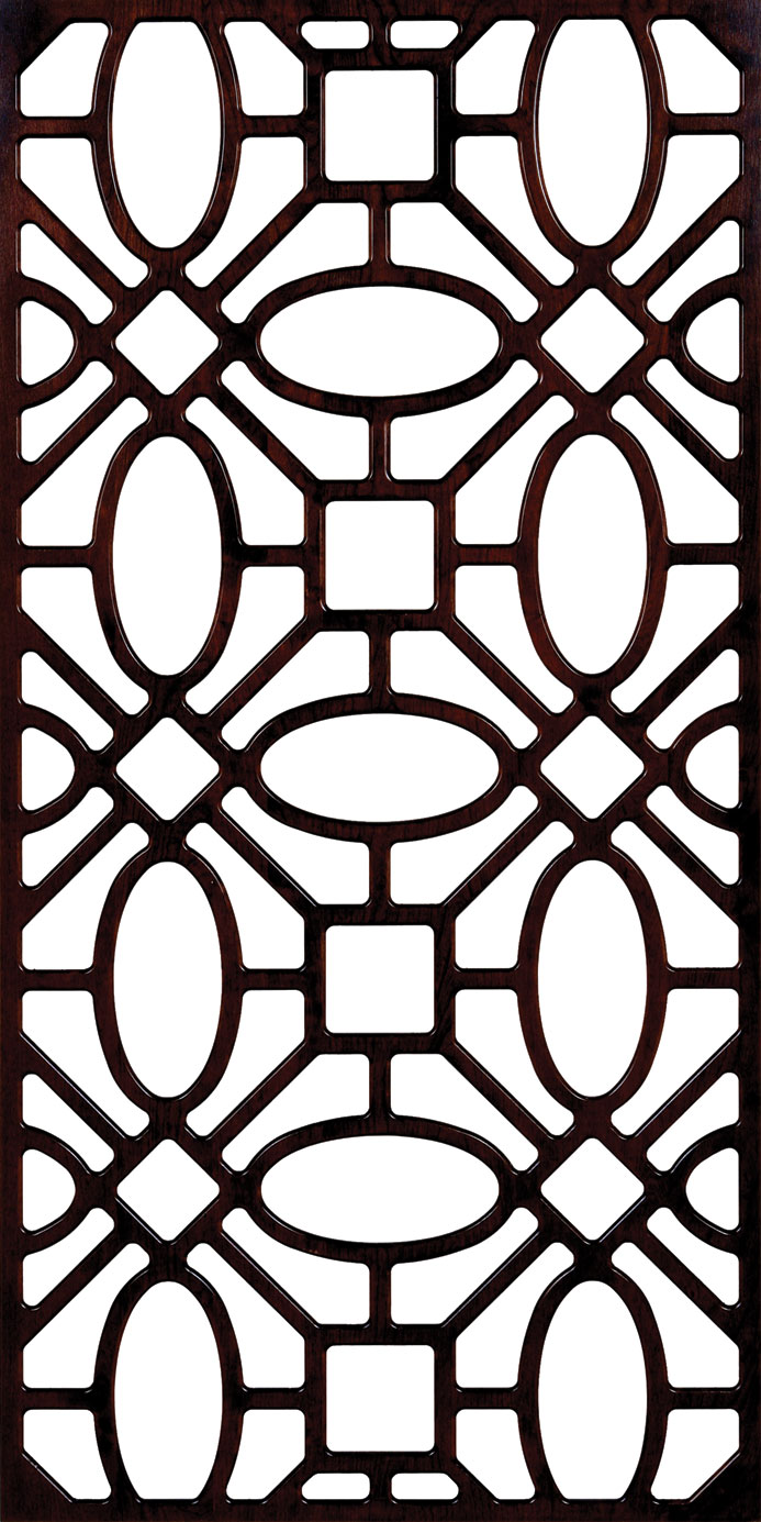 Partition Wall Pattern 300-v2 Free DXF File
