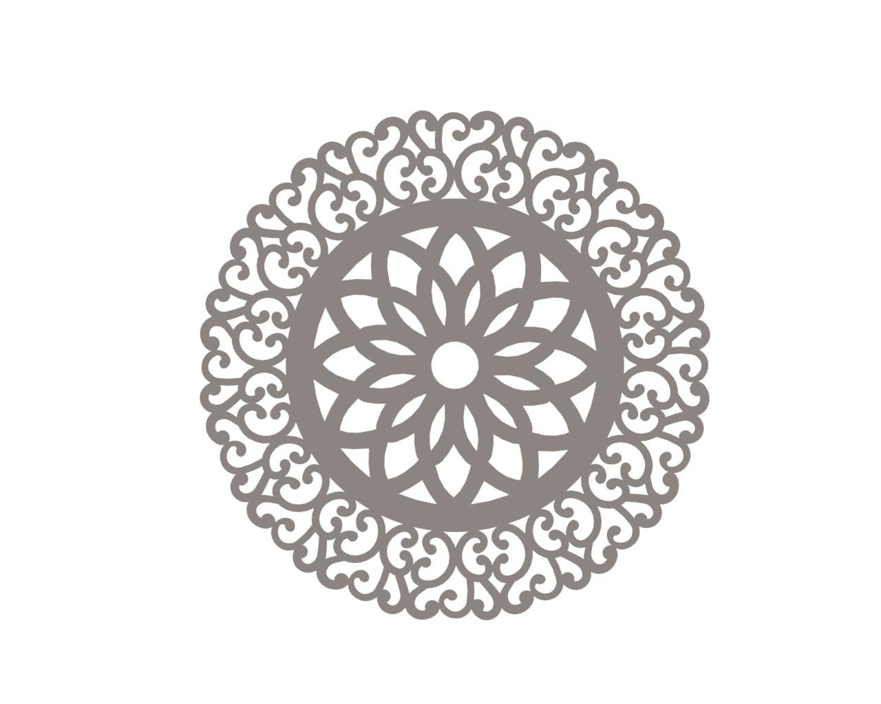 Vector Indian Mandala Free DXF File