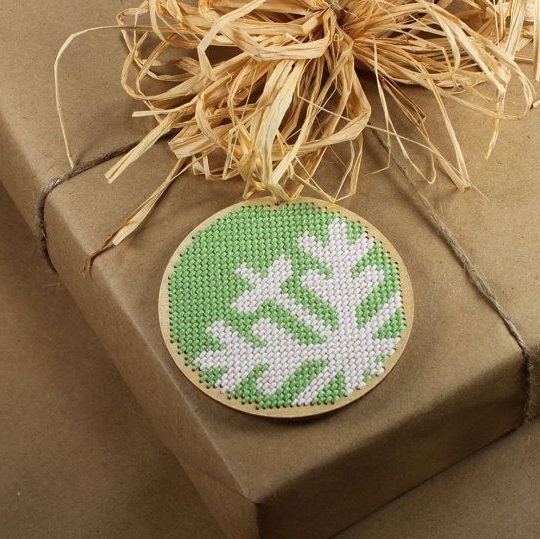 Laser Cut Cross Stitch Embroidery Kit Free CDR Vectors Art