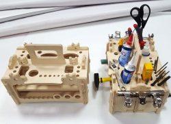 Cnc Laser Cut Repair Tools Organizer Free CDR Vectors Art