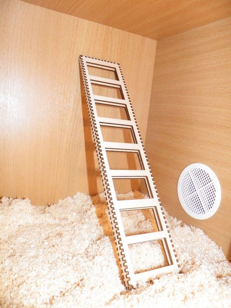 Laser Cut Toy Ladder Free CDR Vectors Art