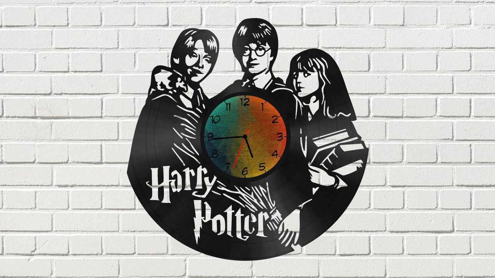 Laser Cut Watch 20 Harry Potter Free CDR Vectors Art