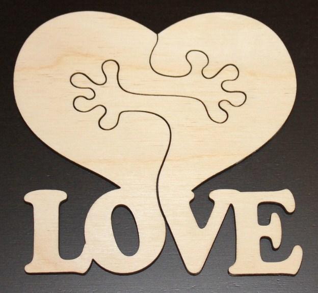 Love Two Hearts Half Free CDR Vectors Art