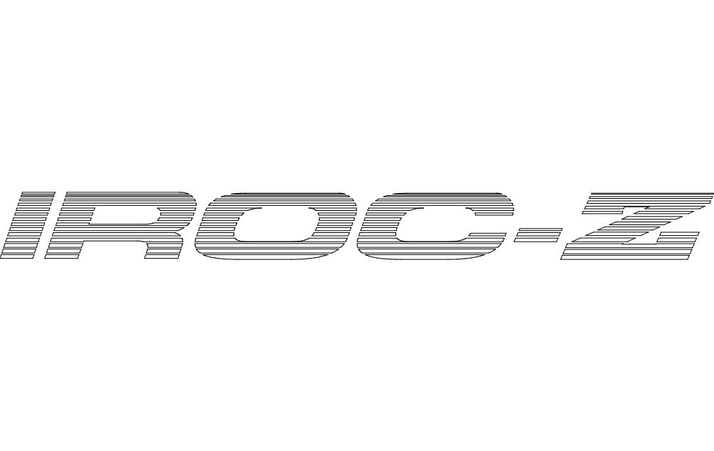 iroc-z (b) Free DXF File