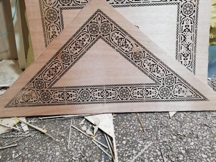 Cote Salon Marocain Free DXF File