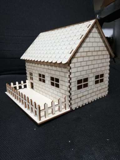Puzzle Home For Cnc Laser Free DXF File