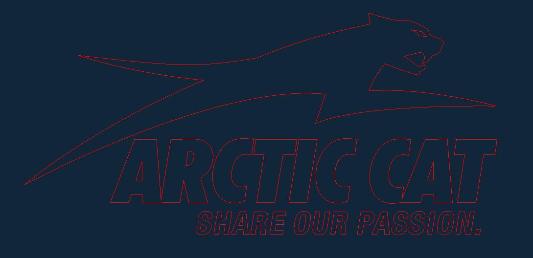 Arctic Cat Free DXF File