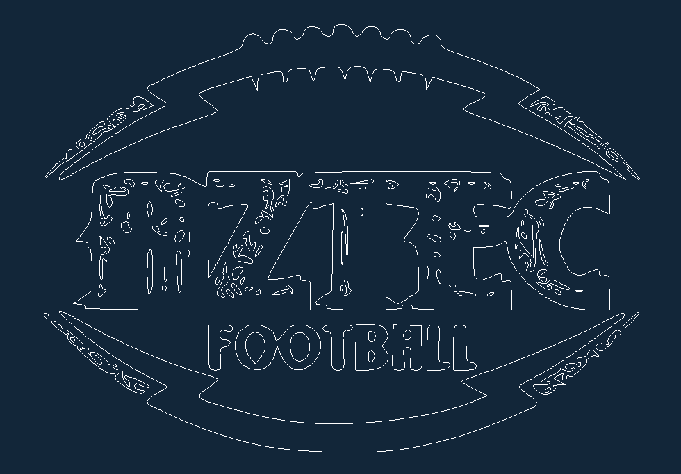 Aztec Free DXF File