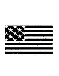 Usa Flag Metal Cut Out Free DXF File