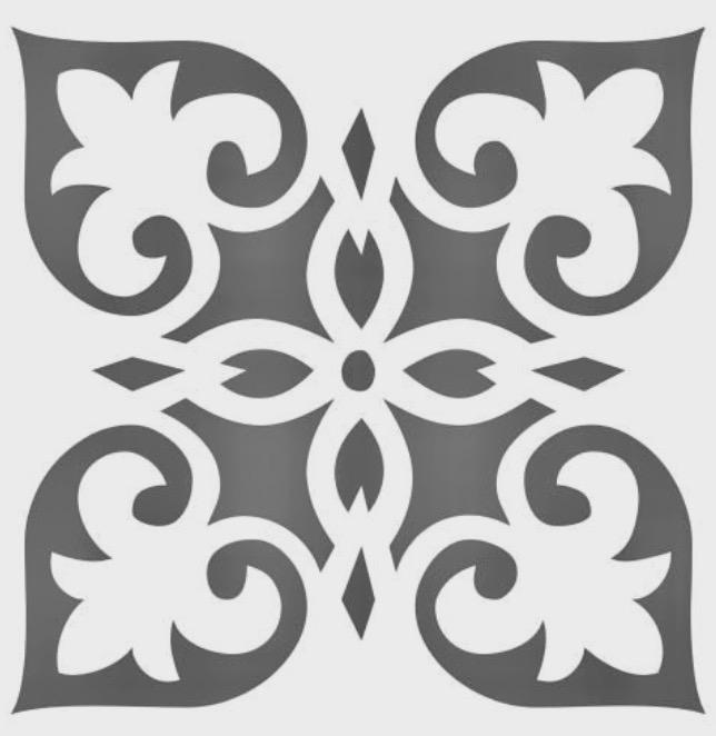 Filografi Tepsi Deseni Free DXF File